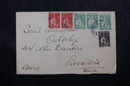 PORTUGAL - Enveloppe  Pour La France En 1931, Affranchissement Plaisant - L 63790 - Lettres & Documents