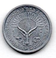 Afars Et Issas /  1 Franc 1971 / SUP - Colonies