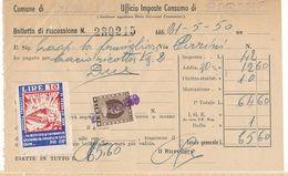 1950 FASANO MARCA PRO MONTECASSINO LIRE 10 - Zonder Classificatie