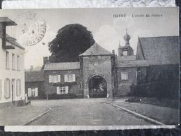 Carte Postale De Belgique, Havré, L'entrée Du Château« 6 » - België