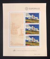 PORTOGALLO AZZORRE ACORES  FOGLIETTO EUROPA CEPT 1983 - Emissions Locales