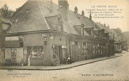 75 PARIS AUTREFOIS - LA PETITE HALLE ANCIENNE BOUCHERIE . RUE DU FOUBOURG SAINT ANTOINE AU 225 - Sonstige