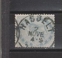 COB 39 Oblitération Centrale HASSELT - 1883 Leopold II