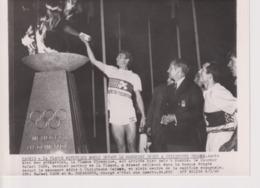 MADRID FLAMME OLYMPIQUE RAFAEL CANO SAMARANCH (+-18x13cm) - Deporte Sport спорт Soccer Rugby Ski Basketball Athletics - Sports