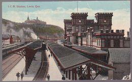 CPA Canada - Québec - I.C.R. Station - Gare / Train -  Levis - 1913 - Levis