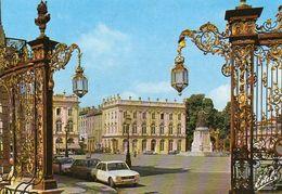 CP 54 Meurthe Et Moselle Nancy Place Stanislas Grilles Jean Lamour Plans Héré - Nancy