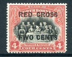 North Borneo 1918 Red Cross Surcharges - 4c + 2c The Sultan Of Sulu - P.13½-14 - HM (SG 218) - North Borneo (...-1963)