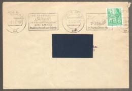 DDR 1960 Leipzig - Chess Roller Cancel On Envelope, Traveled - Ajedrez