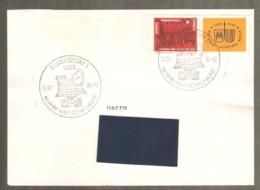 DDR 1984 Rudersdorf ERROR! - Chess Cancel On Traveled Envelope - Ajedrez