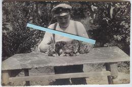 1915 Ferme Marsoupe Lorraine élevage Chats Chiens 4 Eme Bay Res Inf Regiment Ersatz Div Tranchée WW1 14 18 Poilu 2 Phot - War, Military