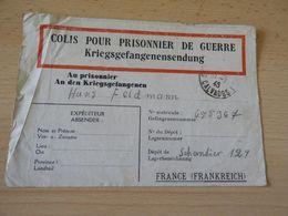 Kriegsgefanngenbrief Frankreich Depot Schantier  129 - Documenti