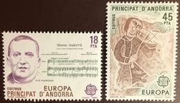 Andorra Spanish 1985 Europa MNH - Ungebraucht