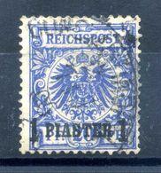 1889 REICH Uffici Levante Turchia N.8 USATO - Offices: Turkish Empire