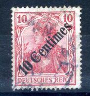 1908 REICH Uffici Levante Turchia N.53 USATO - Offices: Turkish Empire