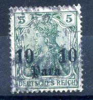 1905-13 REICH Uffici Levante Turchia N.41 USATO - Offices: Turkish Empire