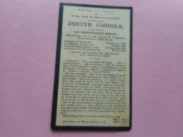 D.P.-ZUSTER GUDULA (m.r.philips)ZWARTZ.DENDERMONDE °BAASRODE 17-9-1867+MOEDERHUIS 30-7-1945 - Religion & Esotérisme
