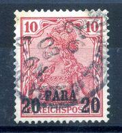 1900 REICH Uffici Levante Turchia N.12 USATO - Offices: Turkish Empire
