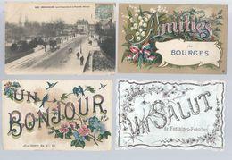 Lot De 50 Cartes Postale Divers Département   Animées     Voir Scann - 5 - 99 Cartes
