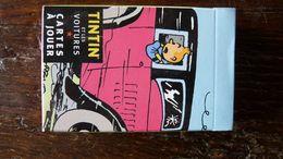 Jeu De Carte Tintin Et Les Voitures 2007 Moulinsart - Tintin