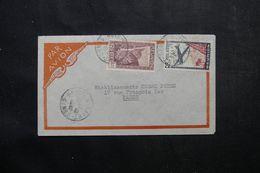 RÉUNION - Enveloppe De Saint Denis Pour Paris En 1939 Par Avion, Affranchissement Plaisant - L 63808 - Réunion (1852-1975)