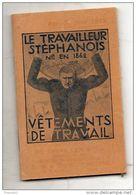 Calendrier/ Agenda.  Le Travailleur Stéphanois. 1933 - Calendarios