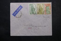 RÉUNION - Enveloppe De Saint Denis Pour La France En 1938 Par Avion, Affranchissement Plaisant - L 63815 - Réunion (1852-1975)
