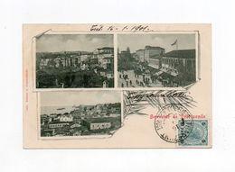 !!! LEVANT AUTRICHIEN, CPA DE TREBIZONDE DE 1901 POUR PARIS - Levant Autrichien