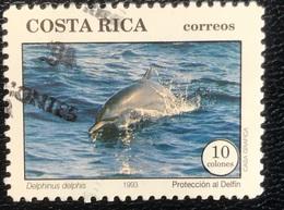 Costa Rica - A1/2 - (°)used - 1993 - Dolfijnen - Costa Rica