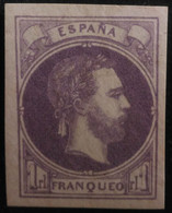 España: Año. 1874 - Correo Carlista, ( Carlos VII - Vascongadas Y Navarra ) Sin Dentar. Certificado COMEX - Carlistes