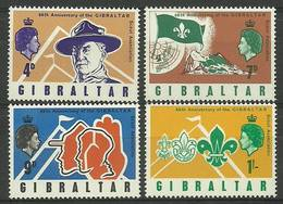 Gibraltar 1968 Mi 211-214 MNH ( ZE1 GIB211-214 ) - Stamps