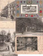 13 Cartes : Mondorf (2); Bettembourg; Echternach; Vianden; Remich; Luxembourg (5) + Dynastie (2) - Postcards