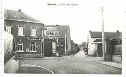 MOMALLE  Rue De L' église.avec Café Piedeboeuf.. - Remicourt