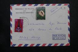 NOUVELLE HEBRIDES - Enveloppe De La Résidence De France De Santo Pour Neuilly  1975, Affranchissement Plaisant - L 63831 - Brieven En Documenten