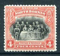 North Borneo 1925-28 Pictorials - 4c The Sultan Of Sulu HM (SG 280) - North Borneo (...-1963)
