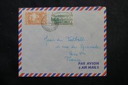 NOUVELLE HÉBRIDES - Enveloppe De Port Vila Pour Paris En 1951  , Affranchissement Plaisant - L 63833 - Brieven En Documenten