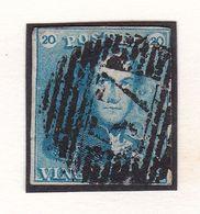 Belgique - COB 2 Obl P57 Hasselt - 1849 Epauletten
