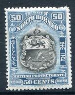 North Borneo 1925-28 Pictorials - 50c Arms Of The Company HM (SG 290) - North Borneo (...-1963)