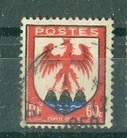 FRANCE - N° 758 Oblitéré - Armoiries De Provinces (III). Nice. - 1941-66 Escudos Y Blasones