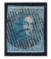 Belgique - COB 2 Obl P76 Philipeville - 1849 Epauletten