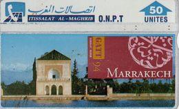 Télécarte MAROC - O.N.P.T. 50 UNITES - MARRAKECH - Marokko
