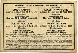 Z.497 Delphine-Irene (bemanning Vergaan Op Zee)  Oostende - Nieuwpoort - Zeebrugge - Heist - De Panne - Non Classificati