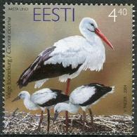 Estonia 2004  Correo Yvert Nº  464 ** Fauna. Ave (Cigueña) - Estonia