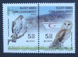 Türkisch- Zypern  Europa  Cept   Nationale Vögel   2019    ** - 2019