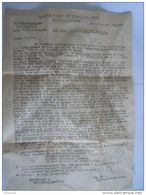 Brief Lettre 1942 V.V.K.S. District Mechelen Vlaamsch Verbond Der Katholieke Scouts - Documentos Históricos