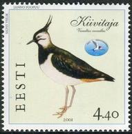Estonia 2001  Correo Yvert Nº  381 ** Fauna. Pájaros - Estonia