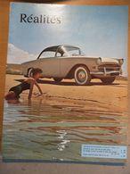 Réalités 1956 Automobile Décapotable Peugeot 403 Facel Vega Mercedes Bouddha Adolescente Bistrot Parisien Jules Roy - General Issues