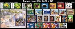 POLYNESIE Année Complète 2002 + BF (NEUF ** MNH) : Yv. 656 à 681 + BF 28  (27 Tp)  ..Réf.POL25070 - Polynésie Française