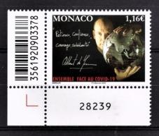 MONACO 2020 - SOLIDARITÉ COVID-19 - NEUF ** - Nuevos