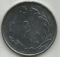Turkey 2 1/2  Lira 1978. UNC FAO KM#915 - Turquie
