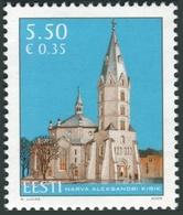 Estonia 2009  Correo Yvert Nº  594 ** 125 Aniversario Iglesia San Alexandre - Estonia